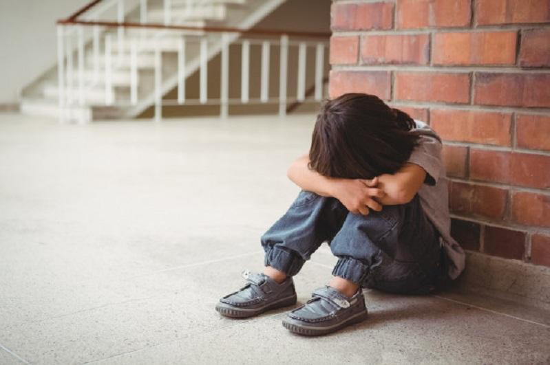 Upset Lonely Child