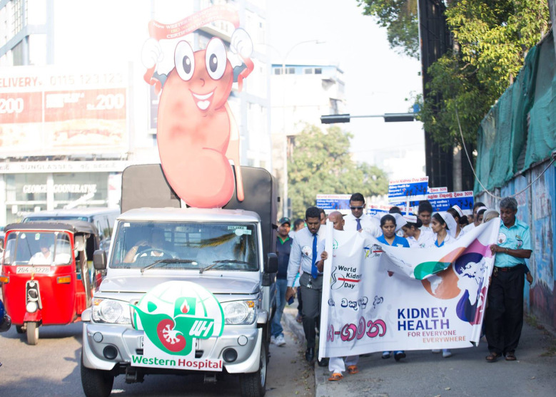 Western Hospital celebrates World Kidney Day 2020