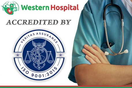 Western Hospital Colombo has been Re-accredited with the ISO 9001:2015 QMS Certification